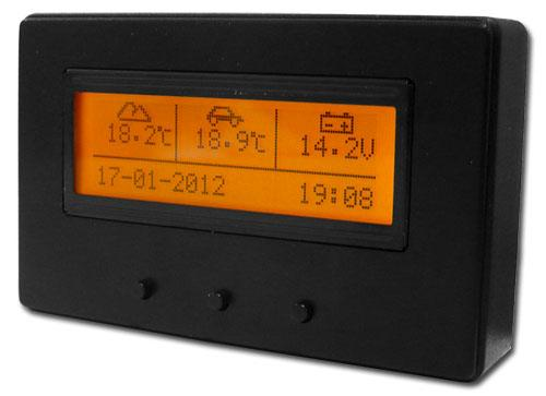obudowa_lcd_1 utcomp 3 lcd fuel meter, mpg gauge, voltmeter, car thermometer mooneyes tach wiring diagram at gsmx.co