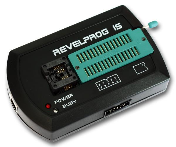 REVELPROG IS - Serial Device Programmer with USB interface