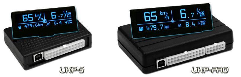 Uniwersalny Komputer Pok  adowy  UKP  z wy  wietlaczem LCD