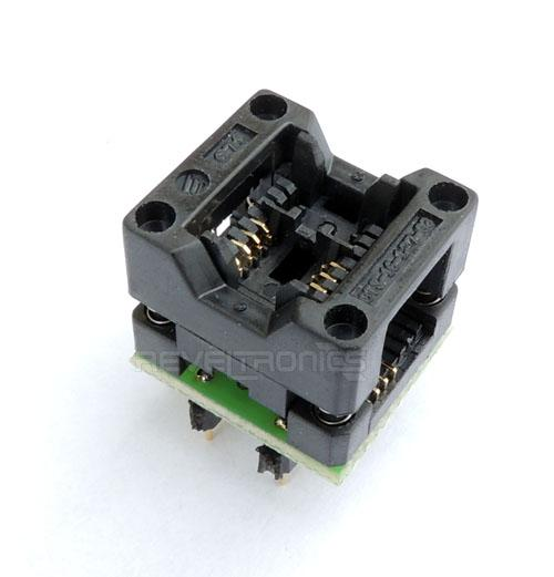 Adapter SOIC-8/DIL-8 150mil ZIF